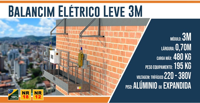 Balancim Elétrico Leve 3M