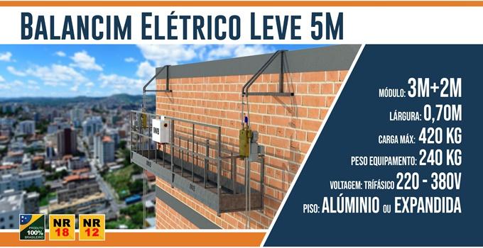 Balancim Elétrico Leve 5M