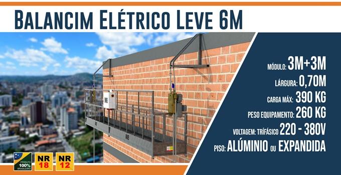 Balancim Elétrico Leve 6M